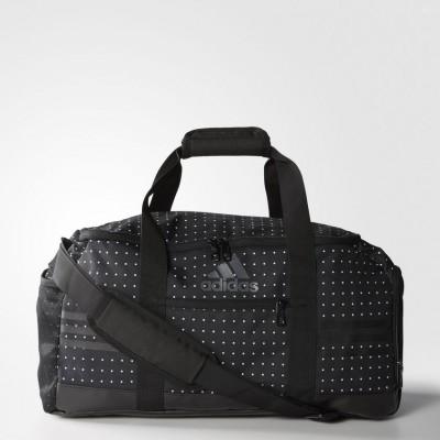 Сумка спортивная Adidas   AK0023 3-Stripes Performance Team Bag Small, черная
