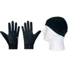 Комплект Nike шапка + перчатки FC0118-079 MEN'S RUNNING GIFT PACK
