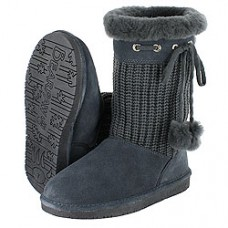 Сапоги женские 660 Charcoal Bearpaw ABIGAIL YOUTH