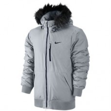 Куртка мужская Nike пуховая 614686-027 ALLIANCE JACKET-HOODED