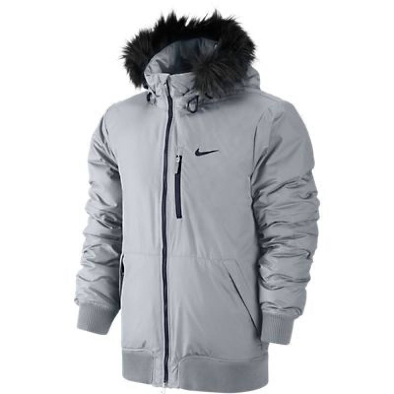 6b1cfad2 Куртка мужская Nike пуховая 614686-027 ALLIANCE JACKET-HOODED